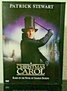A Christmas Carol DVD 2000 Snapcase ~ Patrick Stewart   Richard E. Grant   eBay