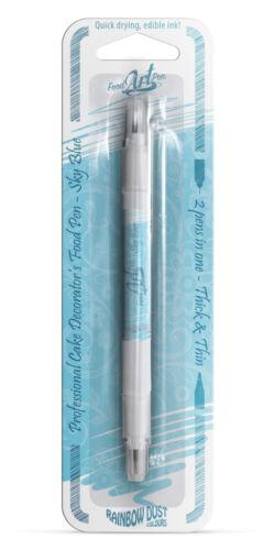 Rainbow Dust Sky Blue Edible Food Art Pen 5g