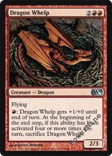 Red Magic 2010 m10 Mtg Magic Uncommon 4x x4 4 FOIL Dragon Whelp