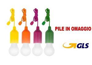LAMPADINA-A-CLICK-COLORATA-CORDA-LUCE-BIANCA-A-LED-FESTA-CAMPEGGIO-PILE-INCLUSE
