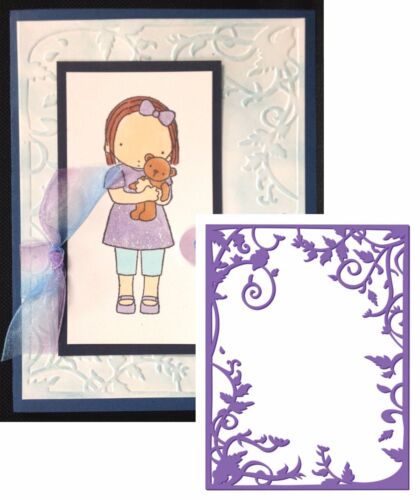 Vine Frame embossing folder Couture Creations Embossing Folders borders frames