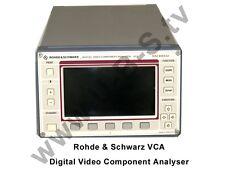 Rohde & Schwarz -  VCA Digital Video Component Analyser