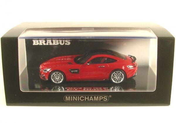 Brabus 600 para Gt S (rojo) 2016