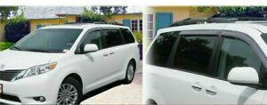 For-Toyota-SIENNA-2011-2020-window-visor-sun-guard-rain-deflector-vent-shade
