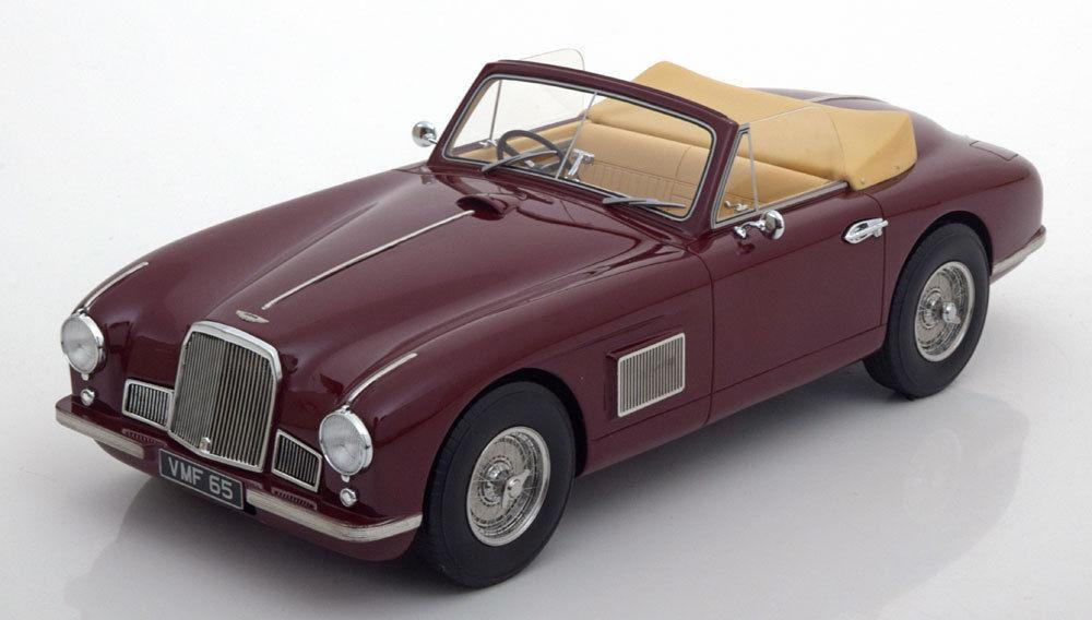 BoS 1950 1950 1950 Aston Martin DB2 DHC Congreenible Dark Red LE 504pcs 1 18 New Item   e3a991