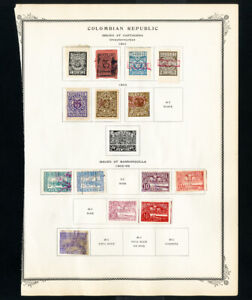 Colombia-Stamps-1901-1918-Lot-of-170-Mint-amp-Used
