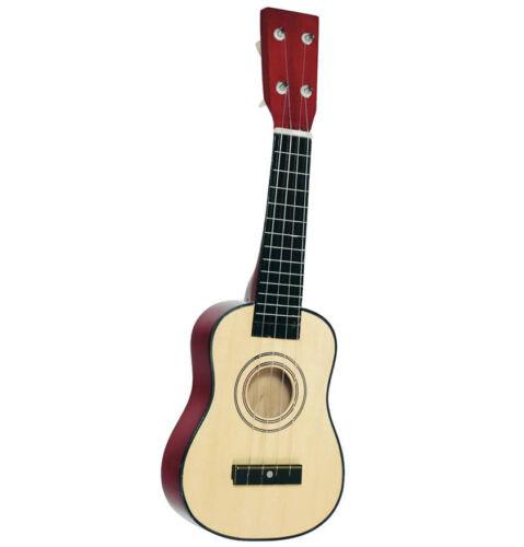 GITARRE Ukulele Kindergitarre Holzgitarre Lerngitarre Kinderukulele Holz °NEU°