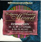 CD - Wolfgang Amadeus Mozart – Symphonien No. 36 & No. 39