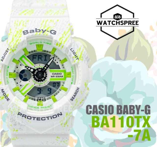 Casio Baby-G BA-110 Series Sports Fashion Theme Watch BA110TX-7A