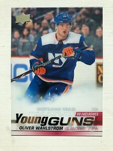 2019-20-Upper-Deck-Series-2-UD-Clear-Exclusive-Young-Guns-Oliver-Wahlstrom