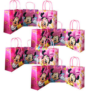 Image Is Loading Disney Medium Goody Bags Minnie Mouse Party Favor