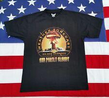 Afghanistan Weather Black T-Shirt Batee Design Graphic Military Tee Medium Funny
