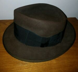 Image is loading Mens-Vintage-Penneys-Marathon-xxx-3X-Brown-Felt- 9018a96f95d