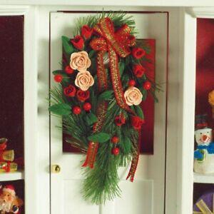 1 Set Christbaumschmuck Haging Dekoration für 1//12 Puppenhaus Miniatur