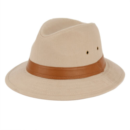Cotton Canvas Outback Hat F1887