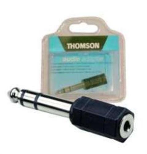 10 Stück Thomson Audio Adapter Klinke 6,35mm Stecker<=>3,5mm Buchse stereo