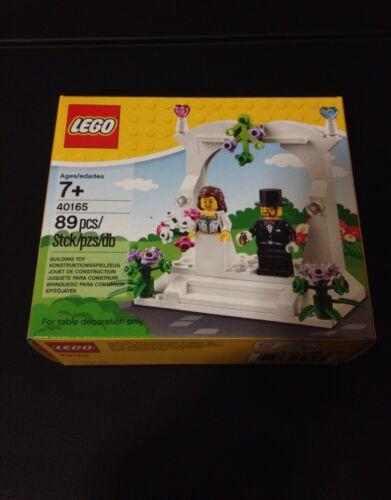 LEGO 40165 Minifigure Wedding Favour Set Cake Topper Wedding Gifts