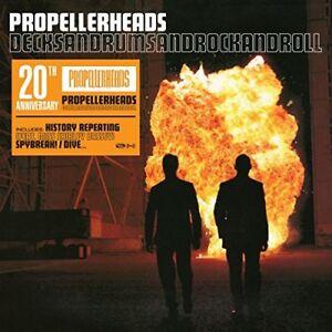 PROPELLERHEADS-DECKSANDRUMSANDROCKANDROLL-20TH-ANNIVERSARY-2LP-2-VINYL-LP-NEW