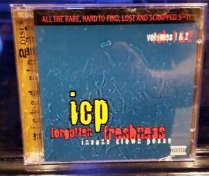 Insane-Clown-Posse-Forgotten-Freshness-vol-1-amp-2-CD-2005-Rare-Press-twiztid
