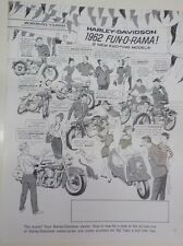 "HARLEY DAVIDSON HUMMER-TOPPER-FL ""NEW OLD STOCK"" 1962 ANNOUNCEMENT"