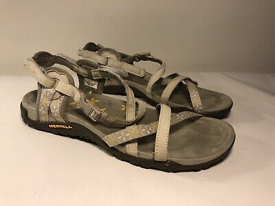Merrell Terran Ari Lattice Silver Lining Comfort Sandal Women/'s sizes 5-11//NEW!!