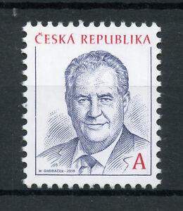 République Tchèque 2018 Neuf Sans Charnière Président Milos Zeman 1 V Set Hommes Politiques Timbres-afficher Le Titre D'origine
