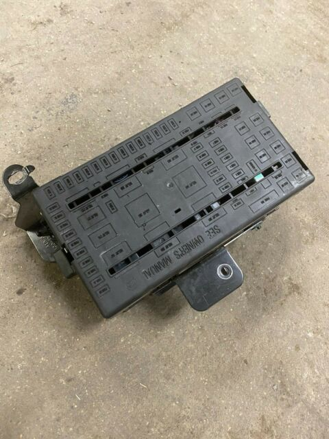 OEM FORD EXCURSION F250 F350 F450 F550 FUSE PANAL 00 01 02 ...