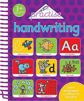 1 of 1 -  nursery pre-school handwriting jumbo workbook age 3+