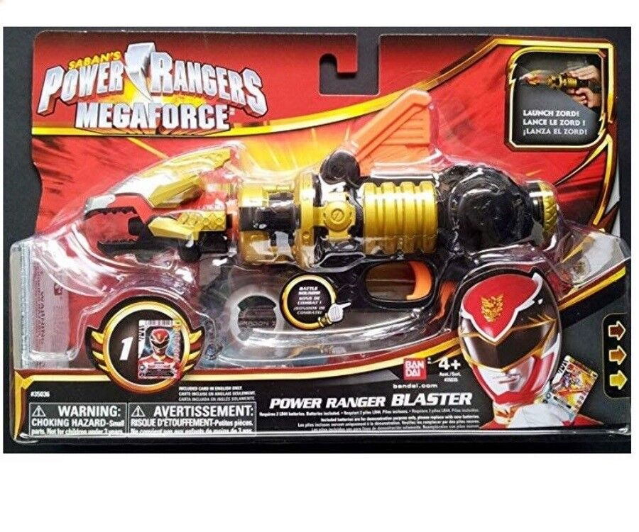 Power Rangers Megaforce Role Play Blaster With Electronic Sounds Launches Zord
