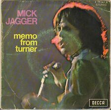 "MICK JAGGER ""MEMO FROM TURNER"" 70'S SP DECCA 13.067"