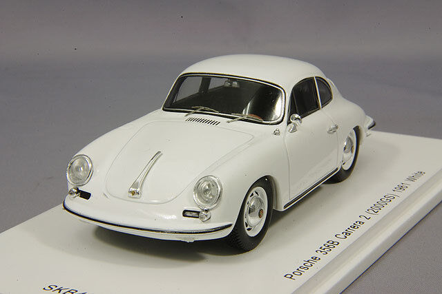 Spark 1/43 Porsche 356B carreraA2  2000GS  1961 bianca SKB43019 Japan LTD Rare