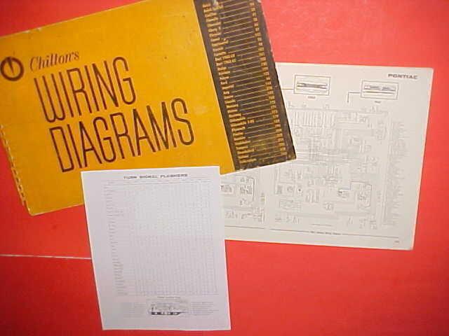1960 1961 1962 1963 1964 1965 Pontiac Grand Prix Bonneville Wiring Diagrams
