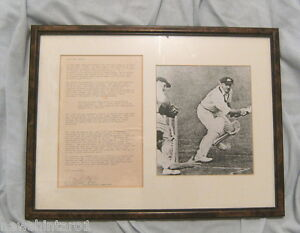 CRICKET-CLUB-CENTENARY-PICTURES-SIGNED-KEITH-MILLER-amp-DON-BRADMAN