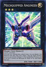Mechquipped Angineer X3 Yugioh MINT RARE Card Numh-en035 3x Cards Super