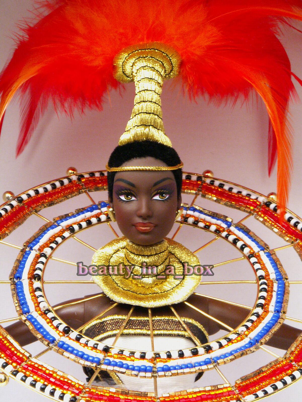 Fantasy Diosa de África Muñeca Barbie Bob Mackie Cr