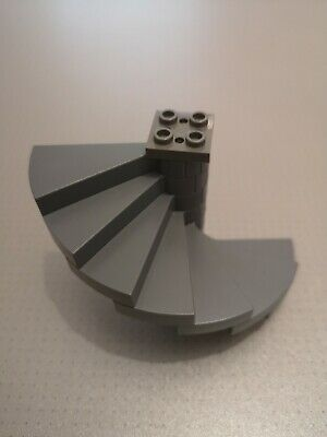 8 Steps GMT40 40243 Grey Spiral Stairs Lego