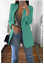 Women-Slim-Casual-Blazer-Jacket-Top-Outwear-Long-Sleeve-Career-Formal-Long-Coat thumbnail 18