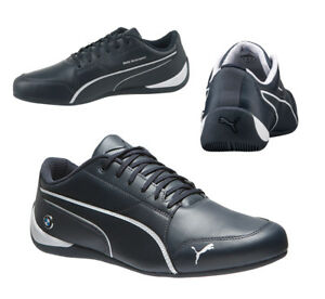 42974b959b9cc Puma BMW Motorsport Drift Cat 7 Lace Up Mens Trainers Navy 305986 01 ...