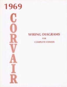 CORVAIR 1969 Wiring Diagram 69 | eBay