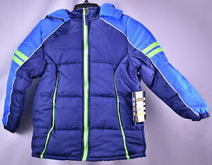 iXtreme-Big-Boys-039-Colorblock-Active-Puffer-Jacket-NAVY