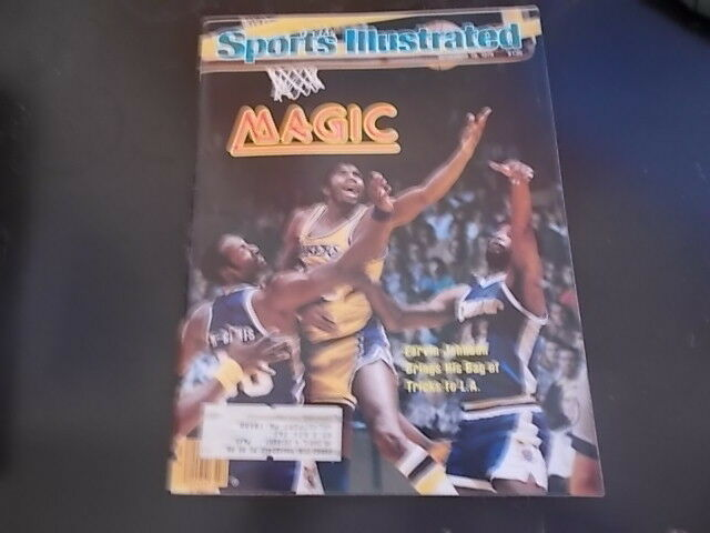 Magic Johnson - Sports Illustrated Magazine 1979