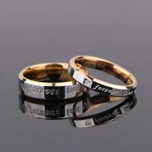 Titanium-Steel-Forever-Love-Ring-Men-Women-Promise-Couple-Wedding-Band-Rings