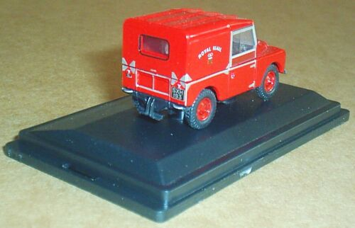 OXFORD DIECAST LAND ROVER SERIES I SWB ROYAL MAIL 1:76 RED CAR TOY MODEL VEHICLE