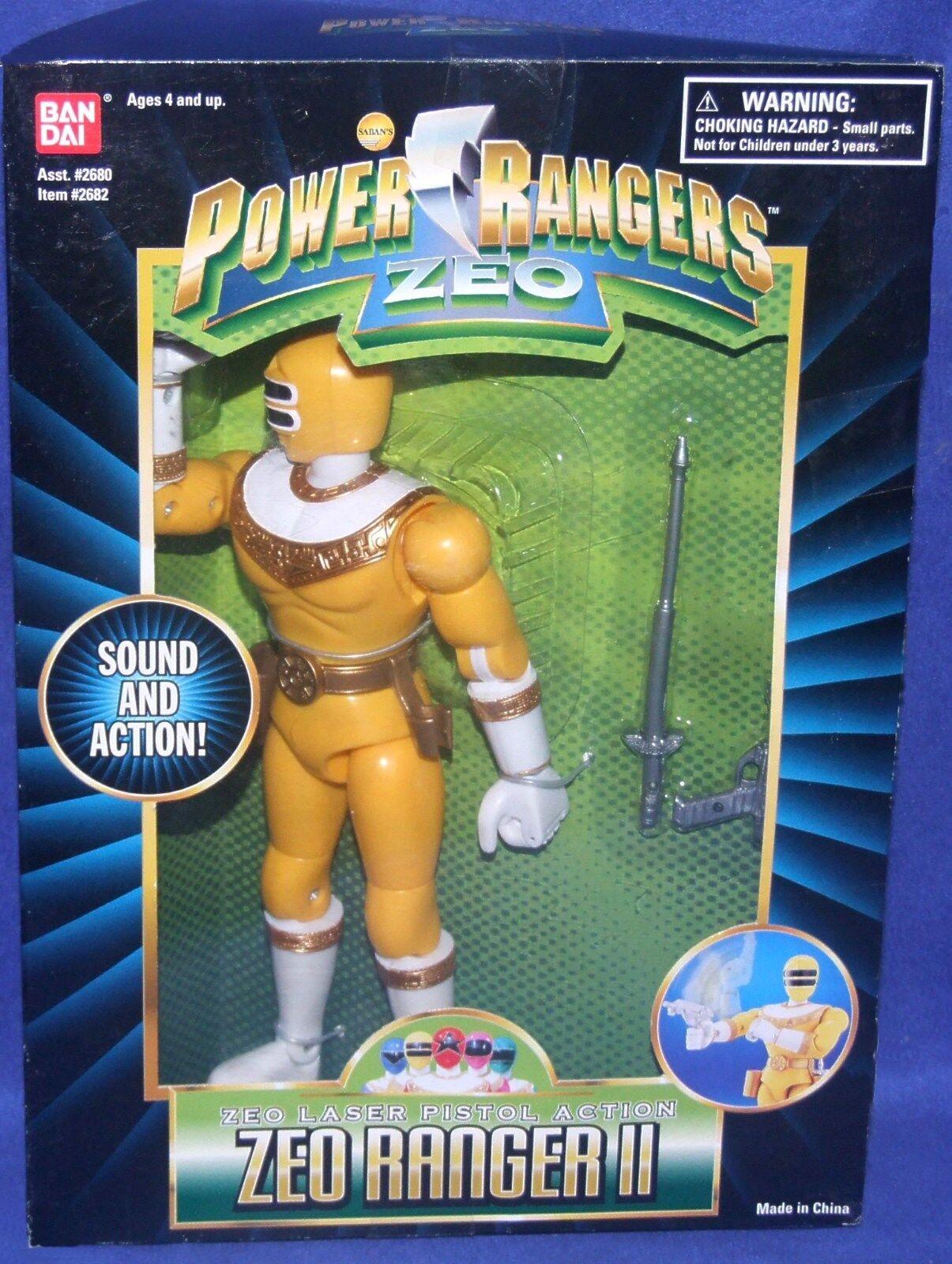 Energia Rangers ZEO 8  gituttio Zeo Ranger II  nuovo Factory Sealed 1996  vieni a scegliere il tuo stile sportivo