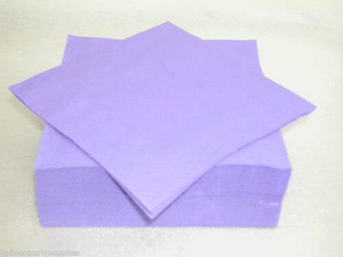 50 Luxury Servilletas púrpura Servilletas