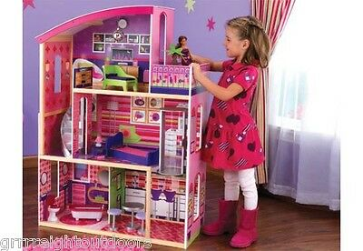 Kidkraft Wooden Dollhouse Modern Dream Doll House 65256