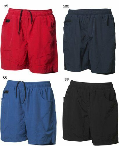 Pantaloni Corti Pantaloncini Bermuda Boxer Bagno Uomo Costume Zip 022059