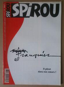 Actif *** Spirou N°3067. Mort De Franquin *** 1997