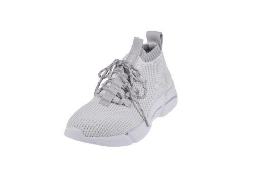 Grey Bugatti Woman Femmes Chaussures De Course Sport Sneaker 432-66863-6900-2012 White//L