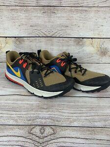 Men-039-s-Nike-Air-Zoom-Wildhorse-5-Size-11-5-AQ2222-200-Brown-Blue-Gold-No-box